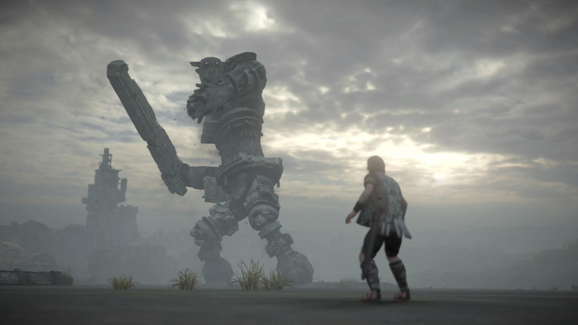 Novo trailer para o remake de Shadow of the Colossus