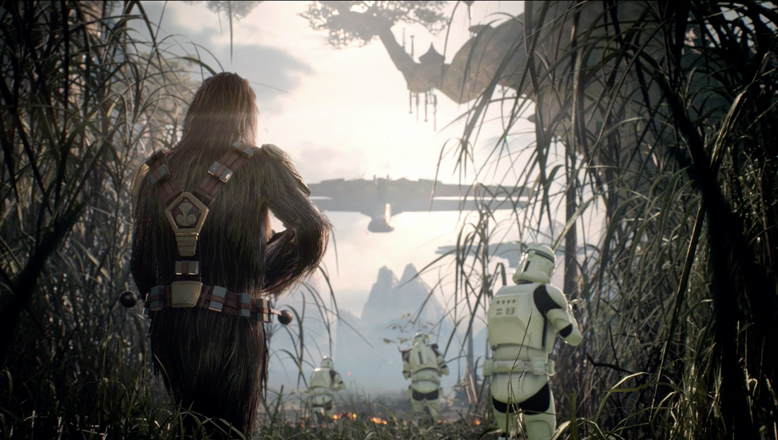 Trailer para a Beta de Star Wars: Battlefront II