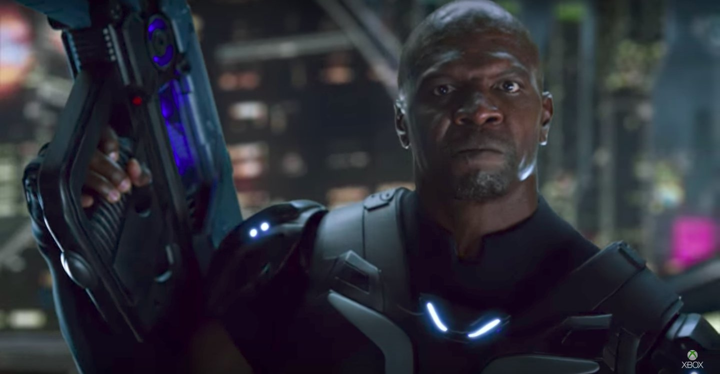 Terry Crews é a estrela do novo teaser de Crackdown 3