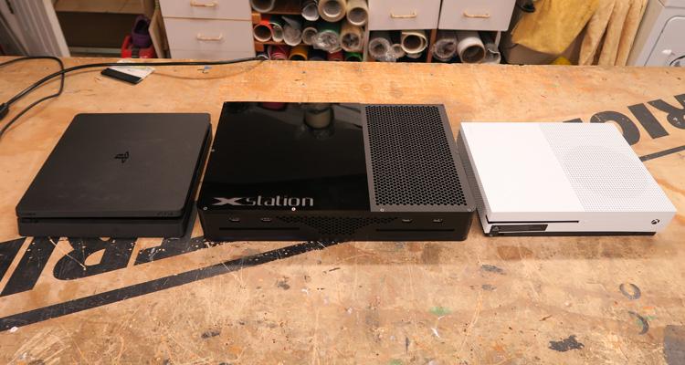 XStation, uma consola que mistura PS4 e Xbox One numa só