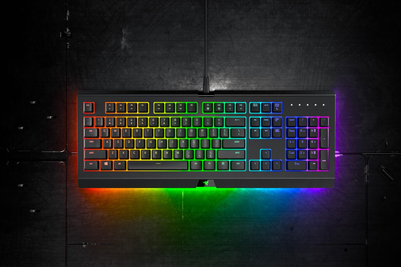 Novo teclado da Razer é à prova de salpicos