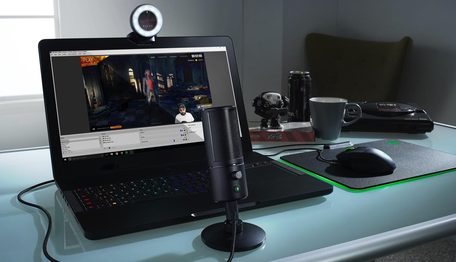 Razer anuncia novas ferramentas para transmissões de jogos