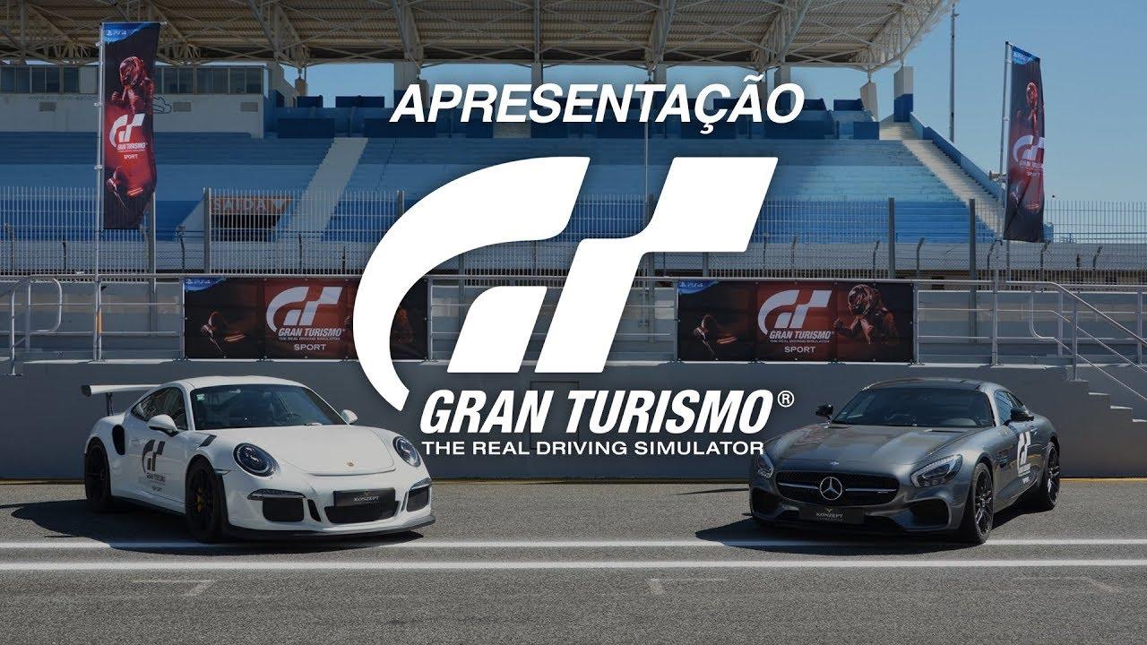 Reportagem: Apresentação de Gran Turismo Sport