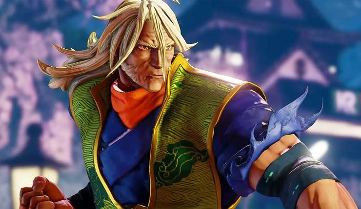 Zeku, é a nova personagem de Street Fighter V