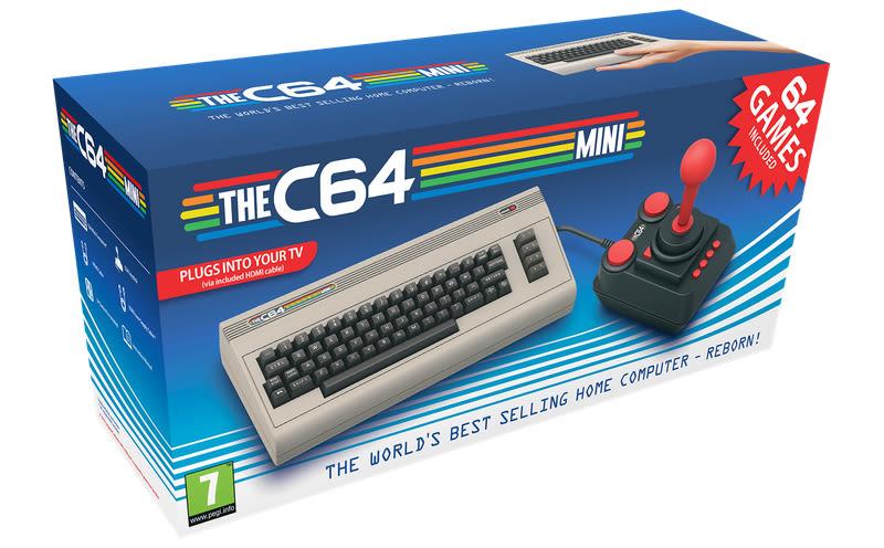Vem aí o Commodore 64 Mini!
