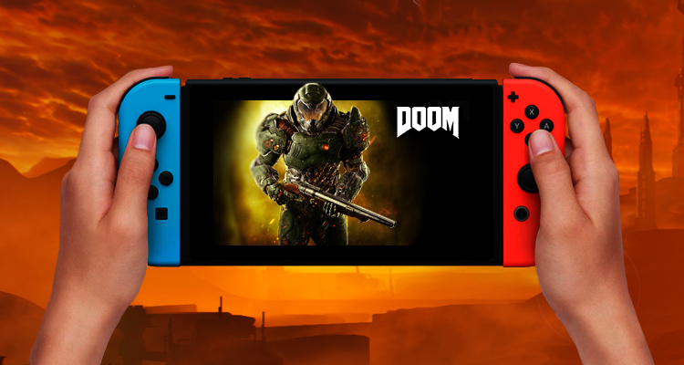 DOOM na Nintendo Switch surpreende pela positiva