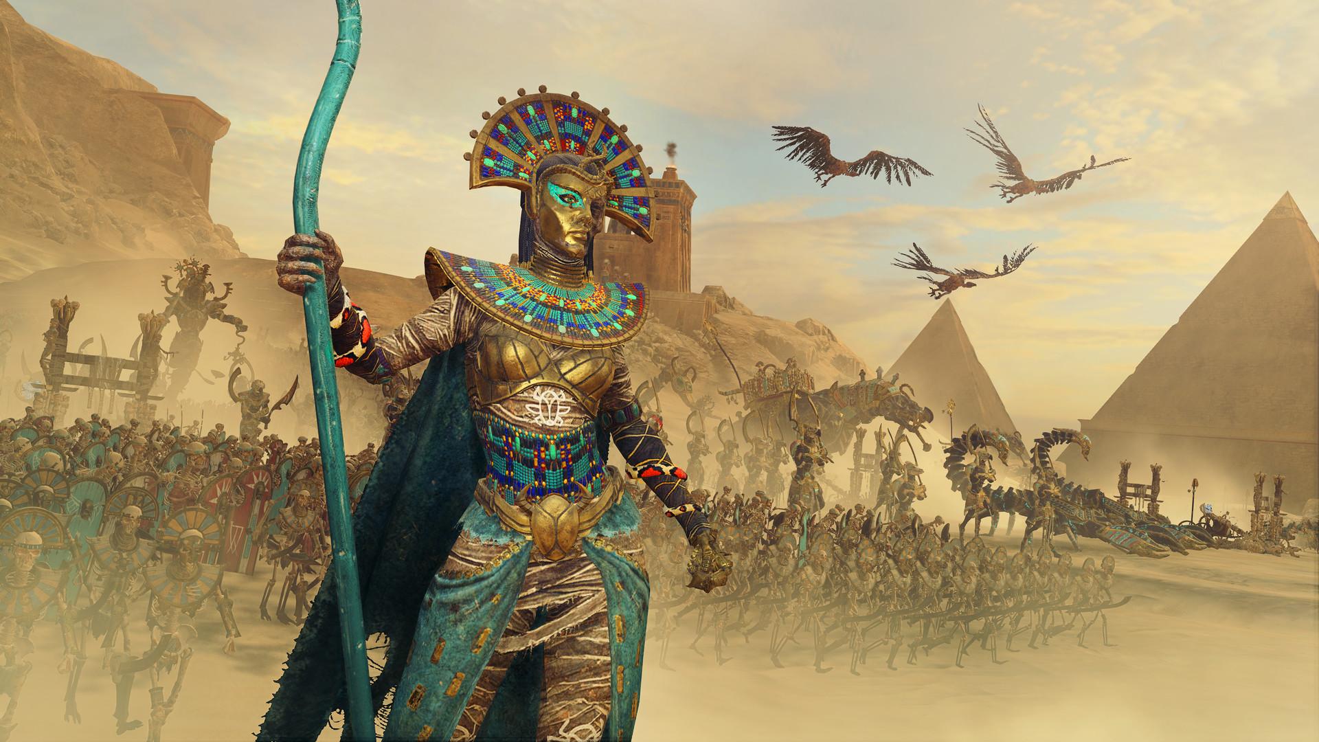 """Rise of the Tomb Kings"" anunciado para Total War: Warhammer II"