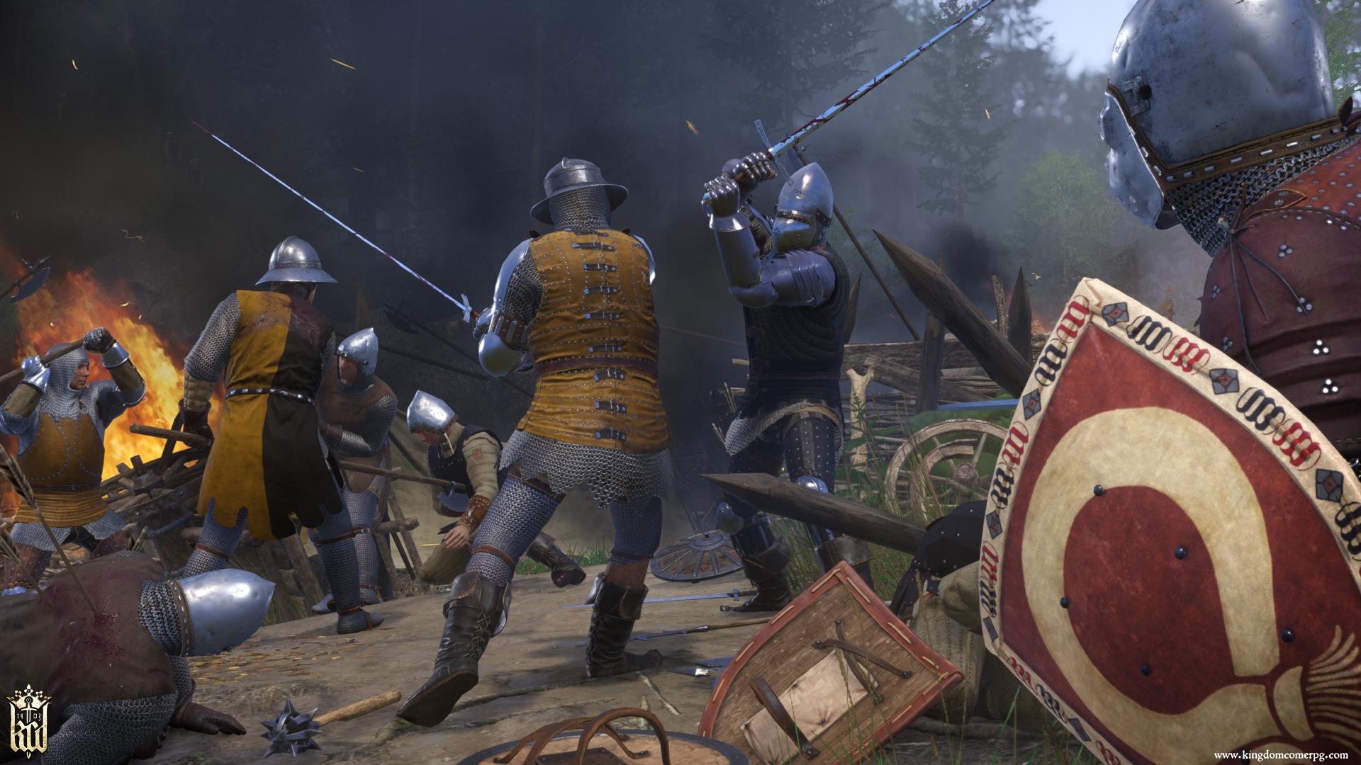 Kingdom come: deliverance é um exemplo de jogo que traz muita precisão histórica.