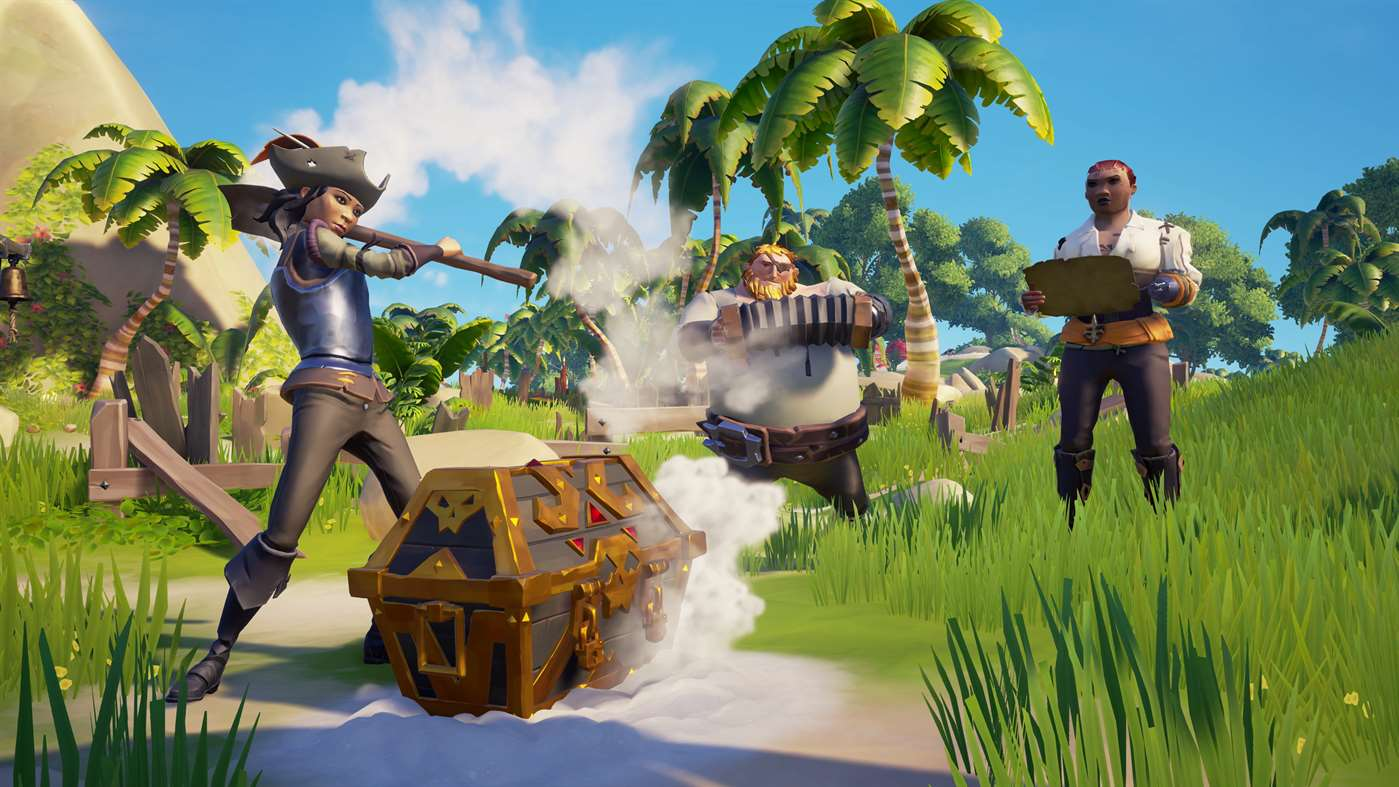 Há outro tipo de pirataria em Sea of Thieves