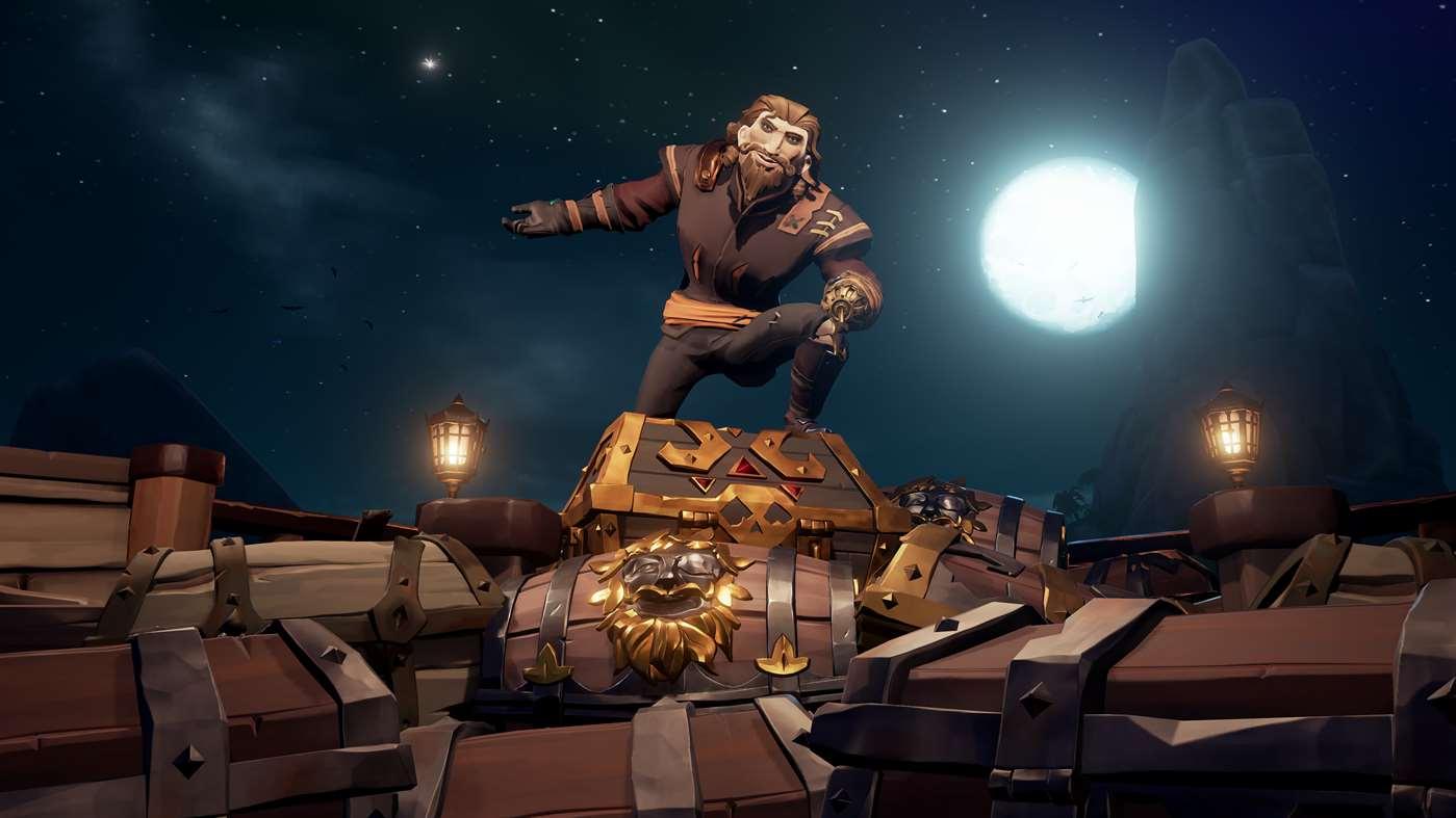 Sea of Thieves atinge os 10 milhões de jogadores