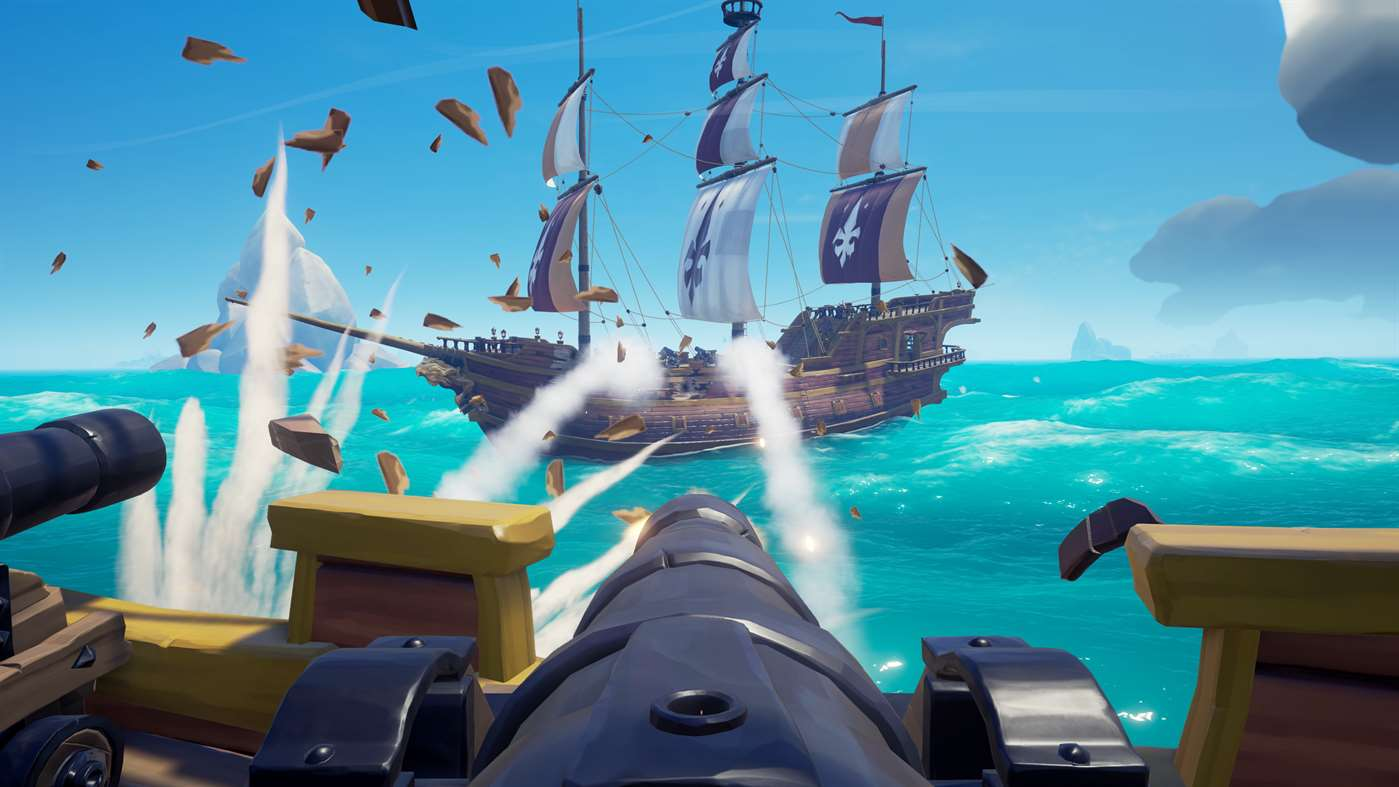Amigos de piratas jogam Sea of Thieves de borla esta semana