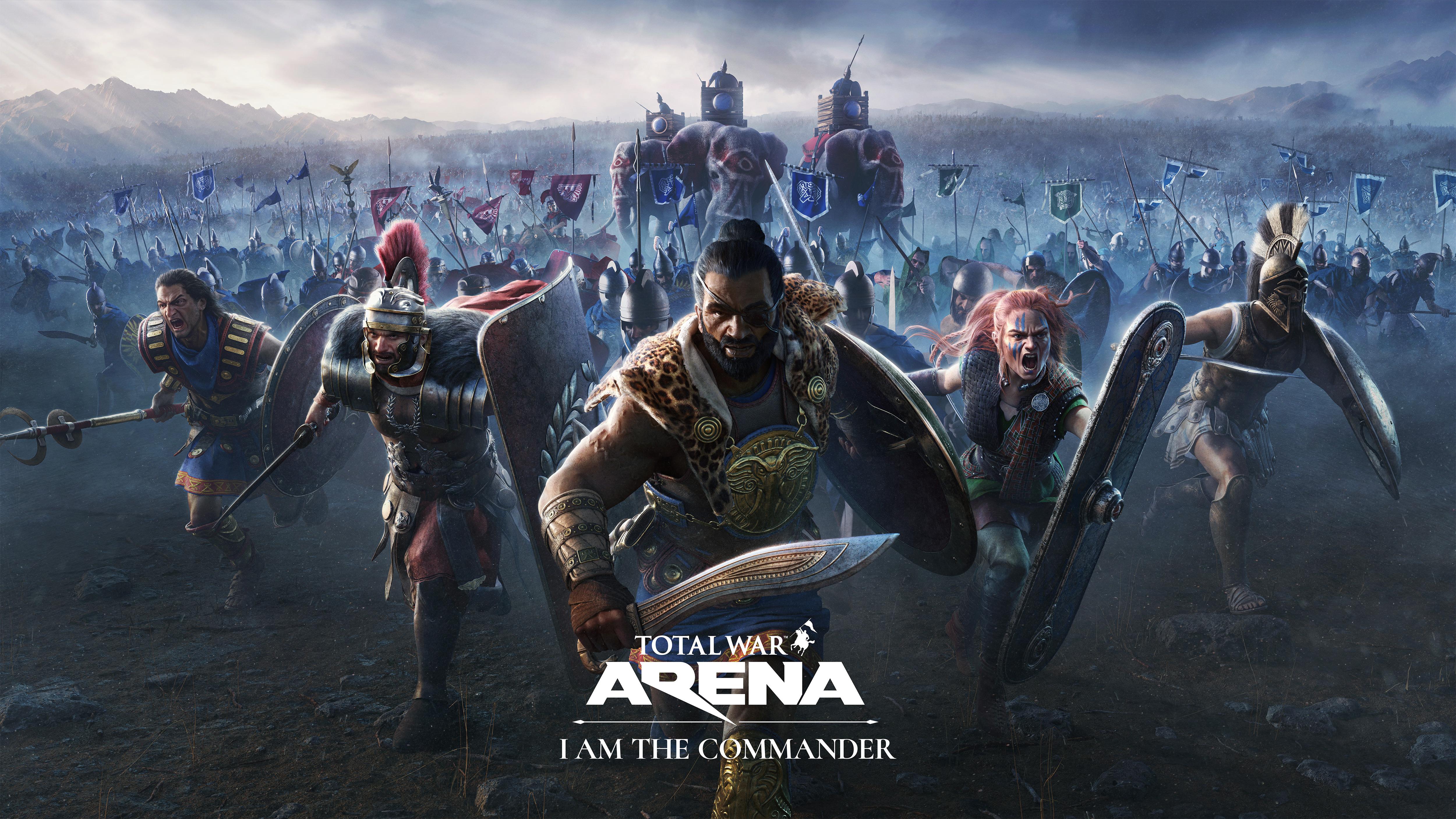 As batalhas de Total War: Arena