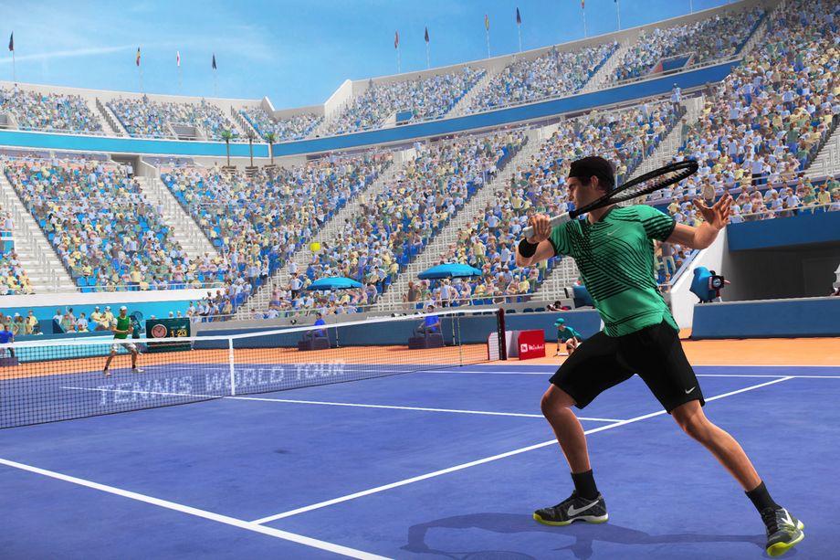 Tennis World Tour será lançado em Maio