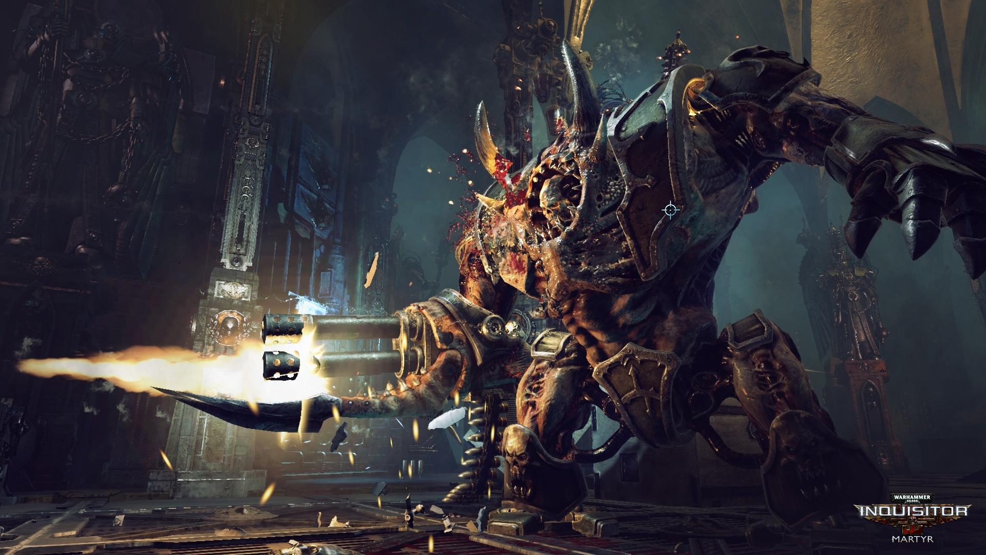 Warhammer 40K: Inquisitor – Martyr chega às consolas em Agosto