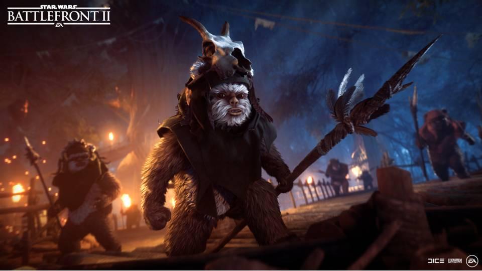 Novo modo nocturno para Star Wars Battlefront II