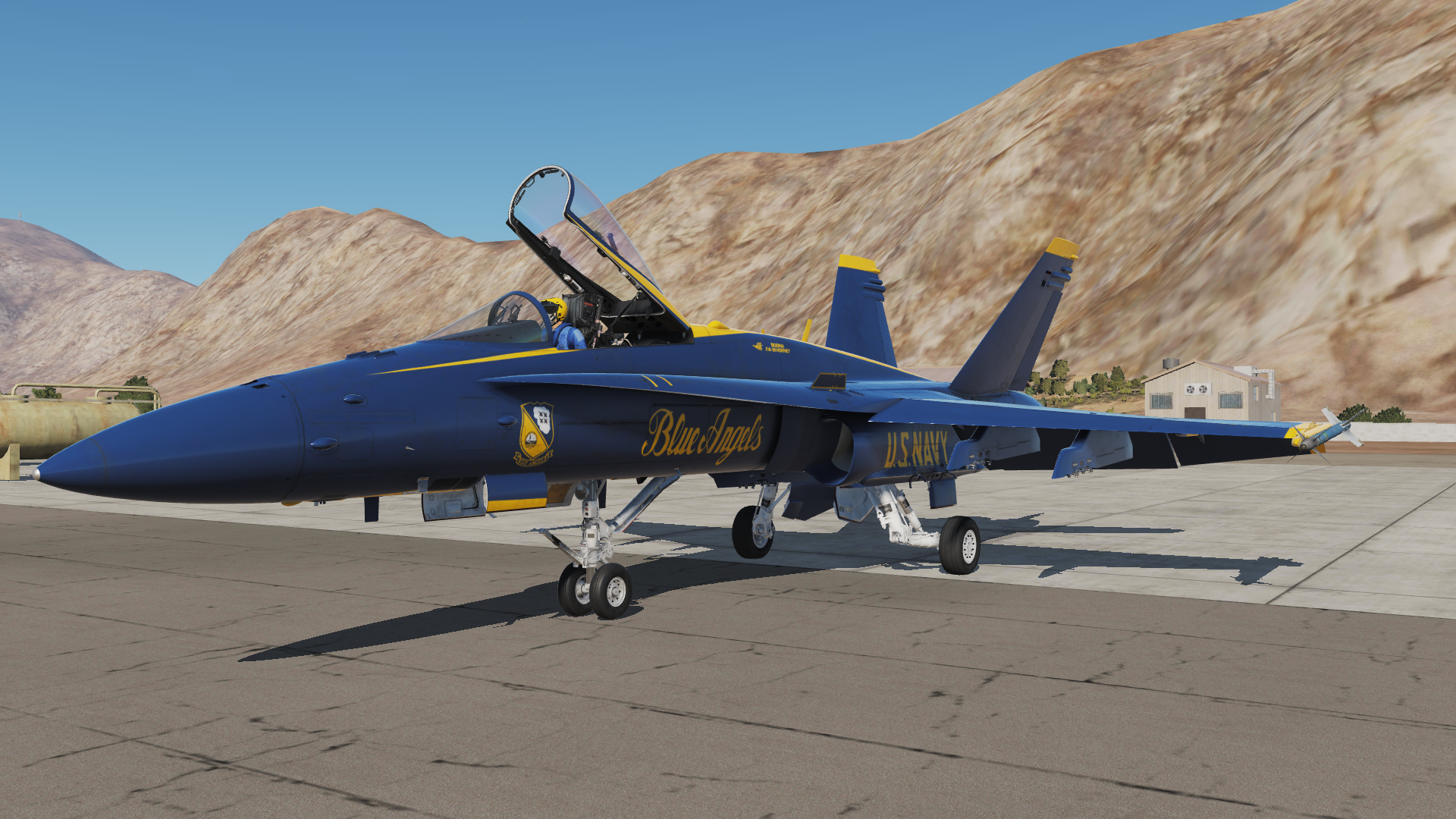 Acesso Antecipado - DCS: F/A-18C Hornet - WASD