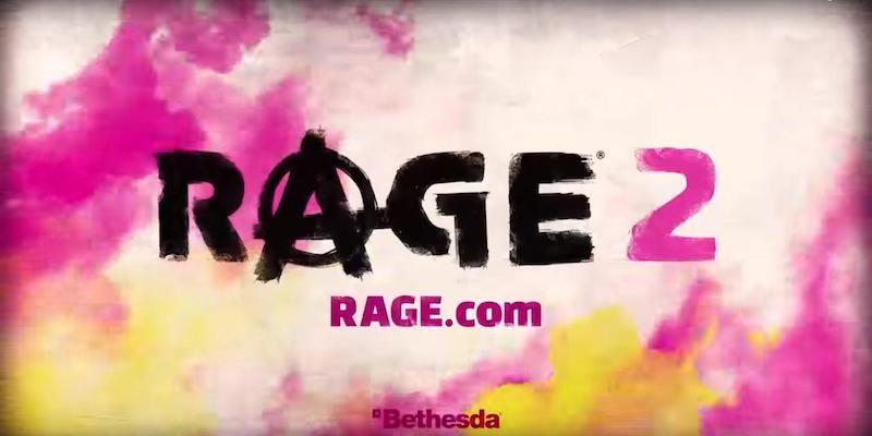 Bethesda anuncia Rage 2