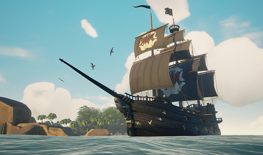"""""""Ships of Fortune"""" chega neste mês a Sea of Thieves"""