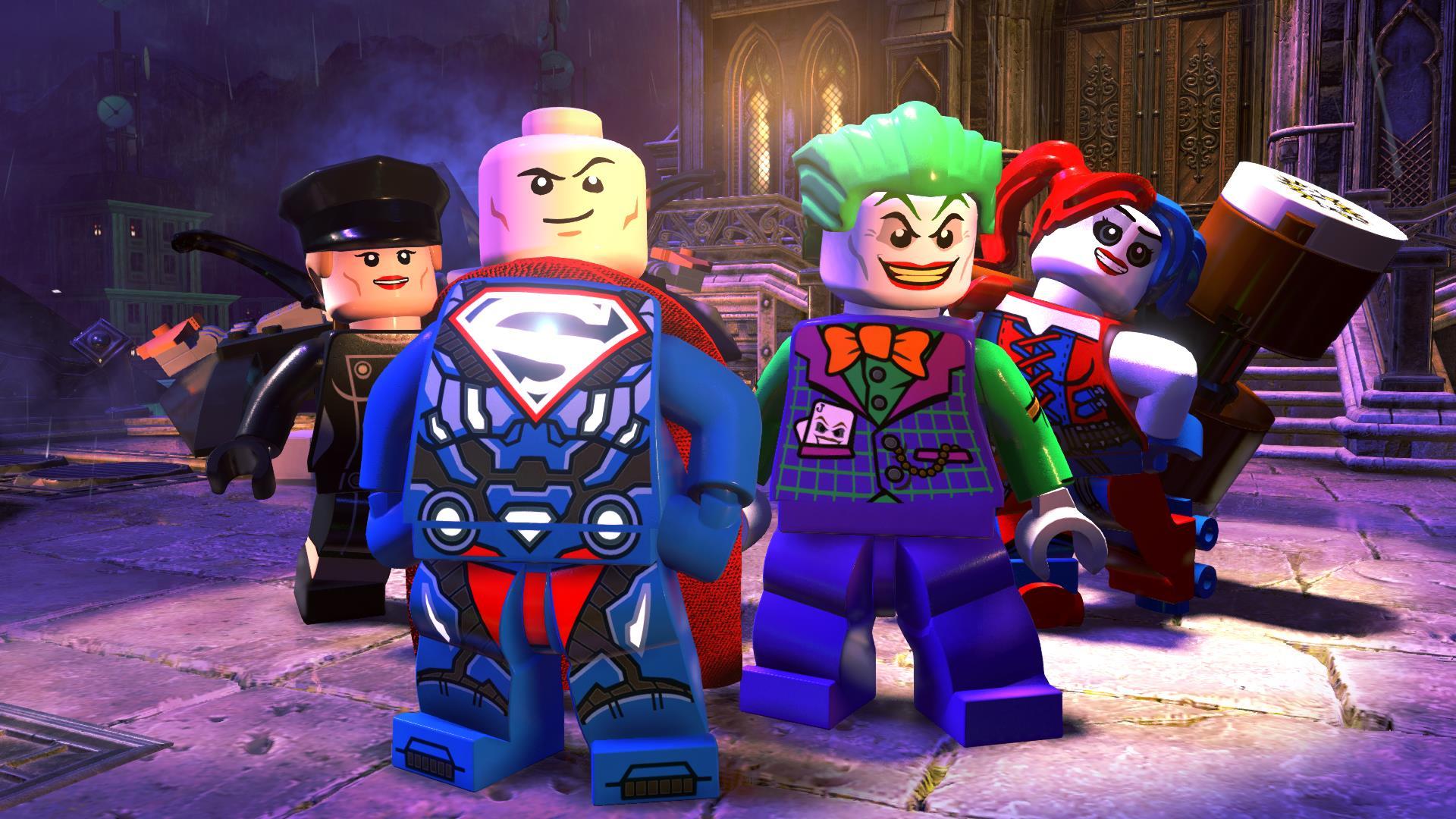 Trailer de lançamento para LEGO: DC Super-Villains