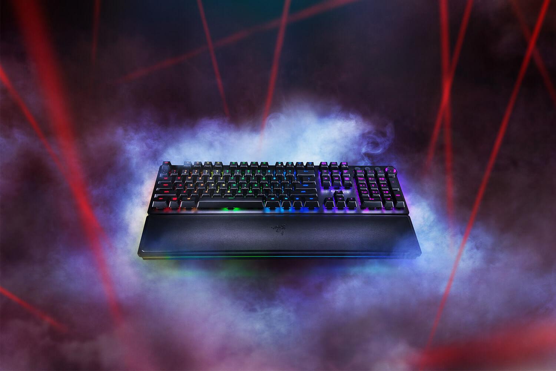Novo teclado da Razer usa feixes de luz para melhorar tempo de resposta