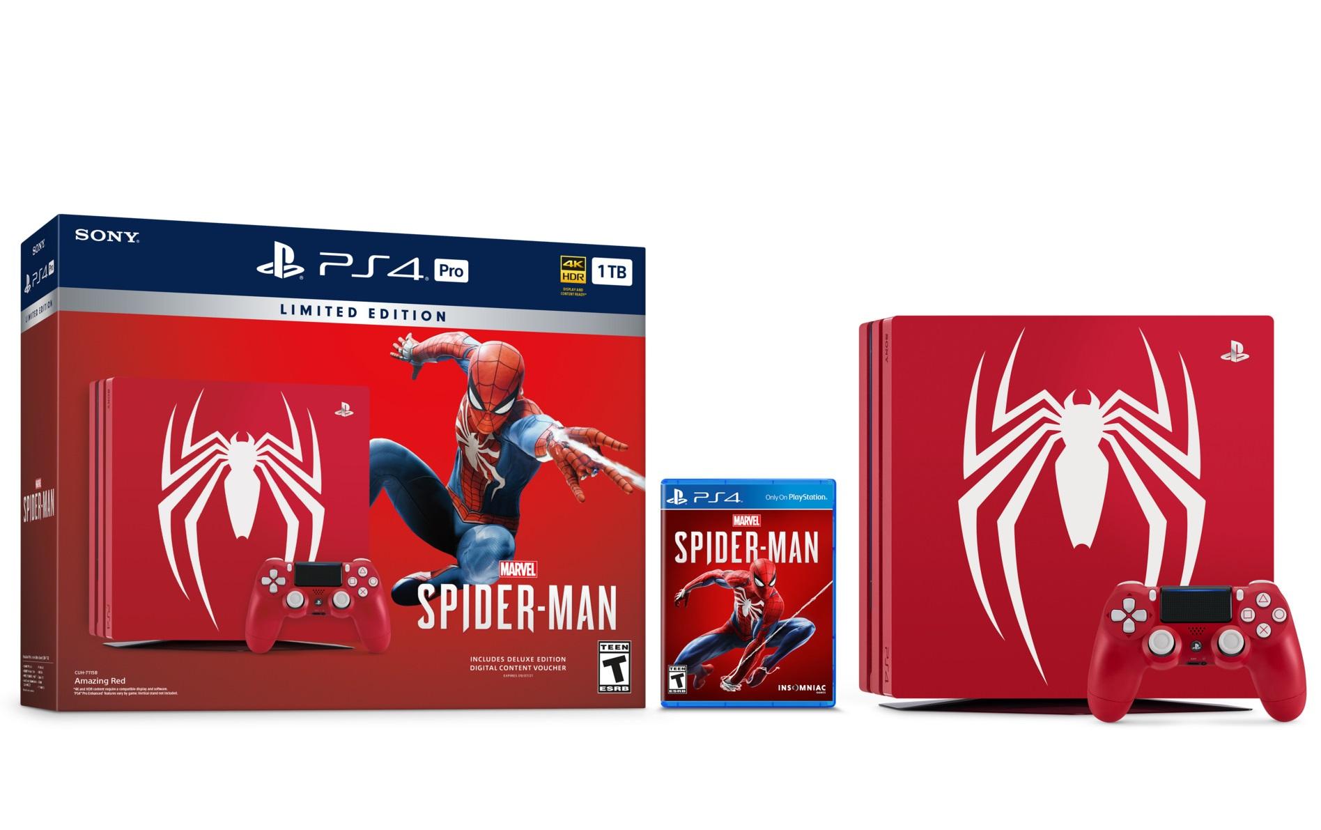 Sony apresenta PS4 Pro de Spider-Man