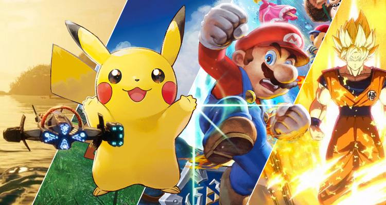 Fomos experimentar as próximas novidades da Nintendo Switch