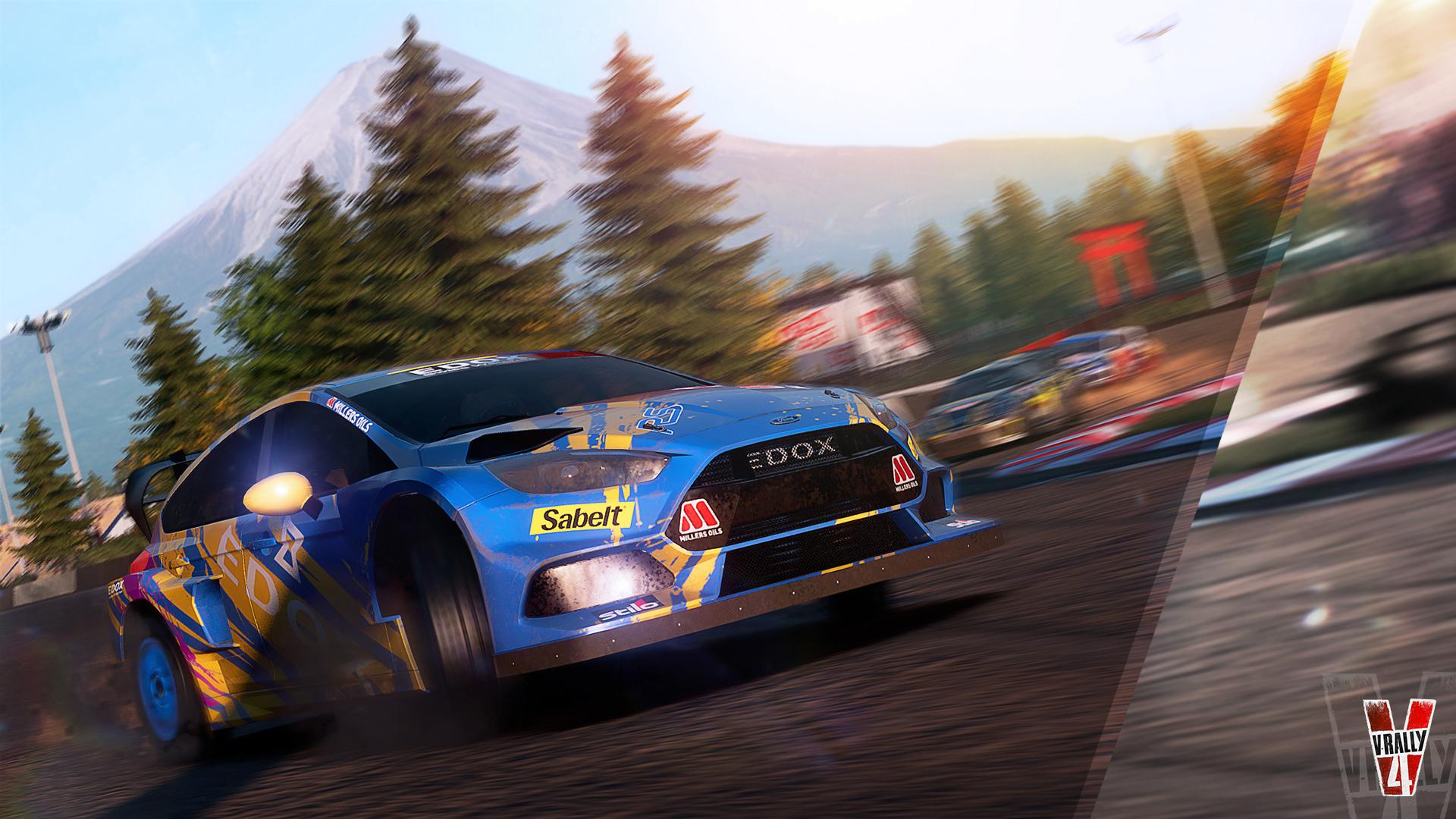 Duas disciplinas para V-Rally 4