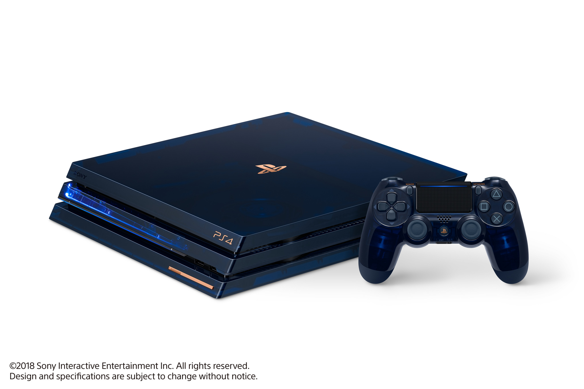 "Sony apresenta a PlayStation 4 Pro ""500 Milhões"""