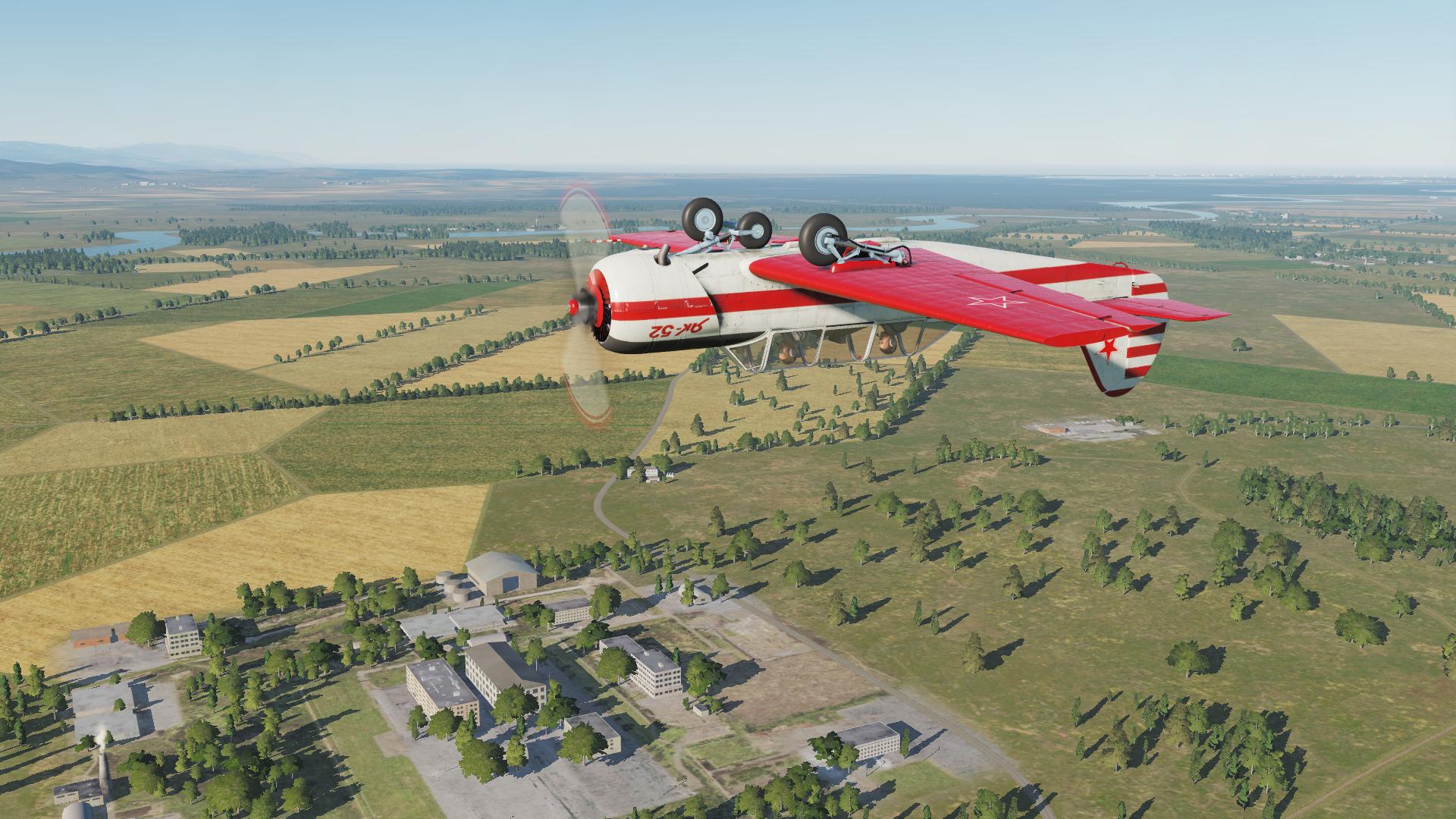 Simuladores – DCS: Yak-52