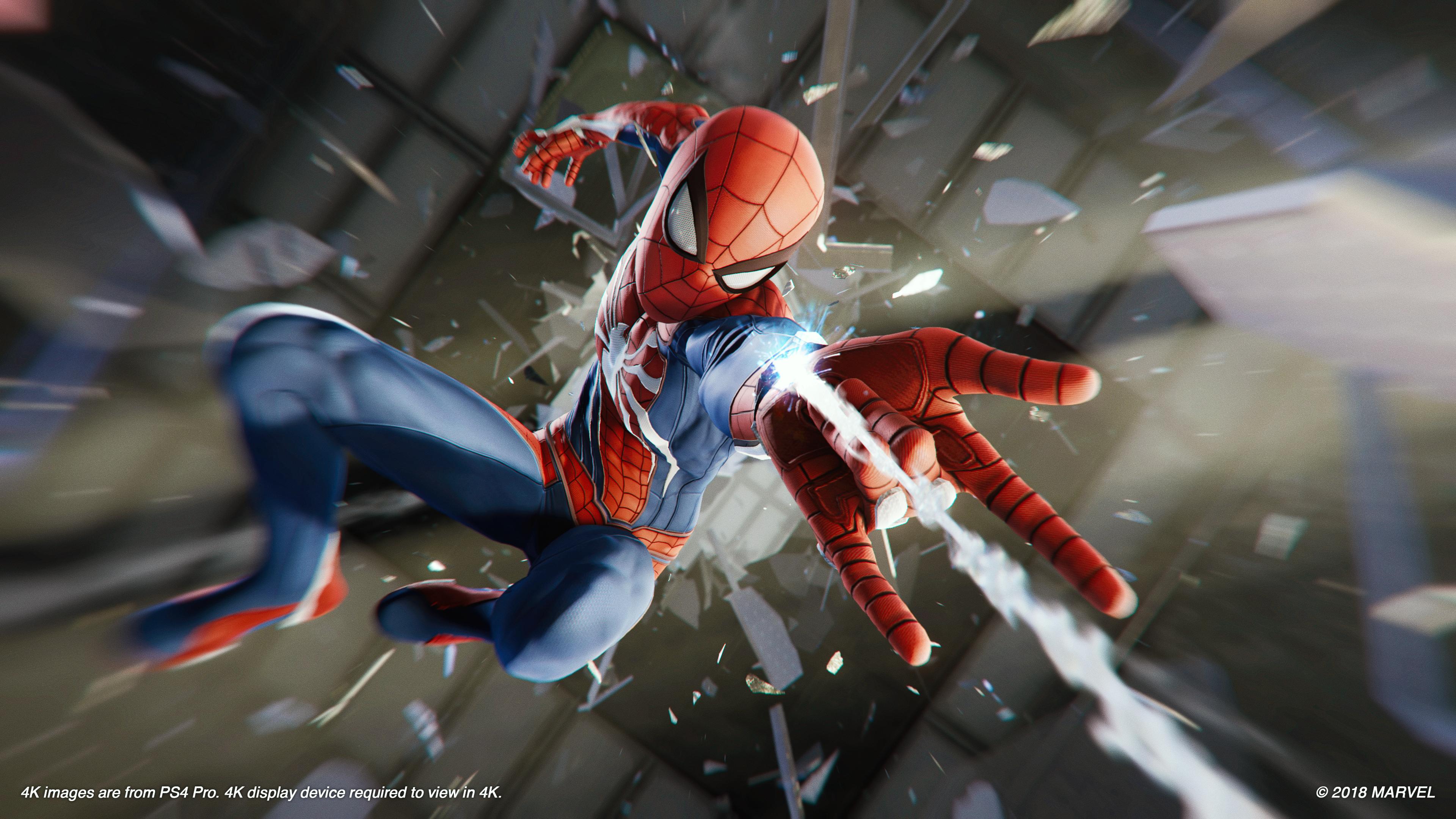 18 minutos de Spider-Man
