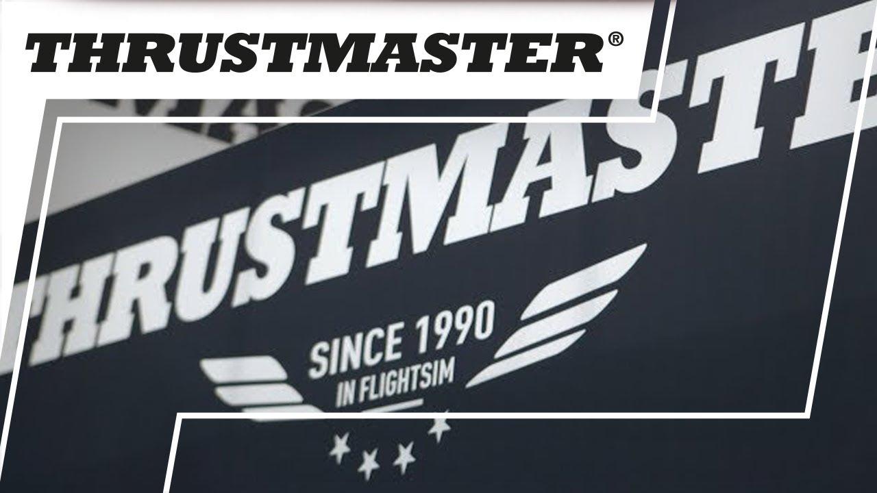 Novidades Thrustmaster vindas da Gamescom 2018