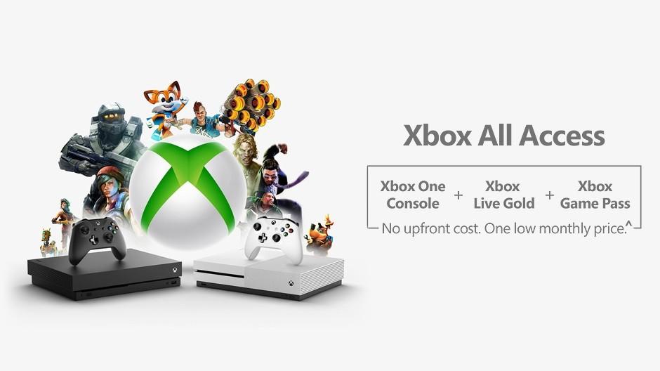 Microsoft anuncia o serviço Xbox All Access nos EUA