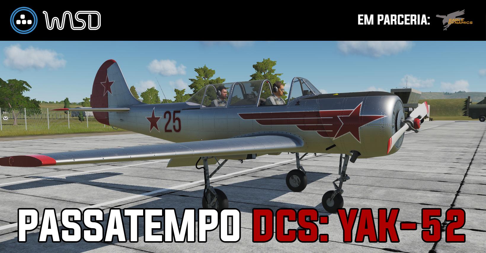 [Resultado] Passatempo – Ganha um Yak-52 para o DCS World