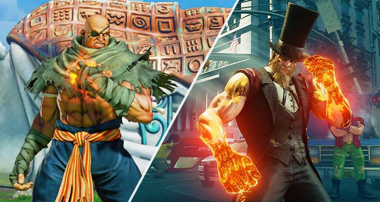 Street Fighter V recebe Sagat e G