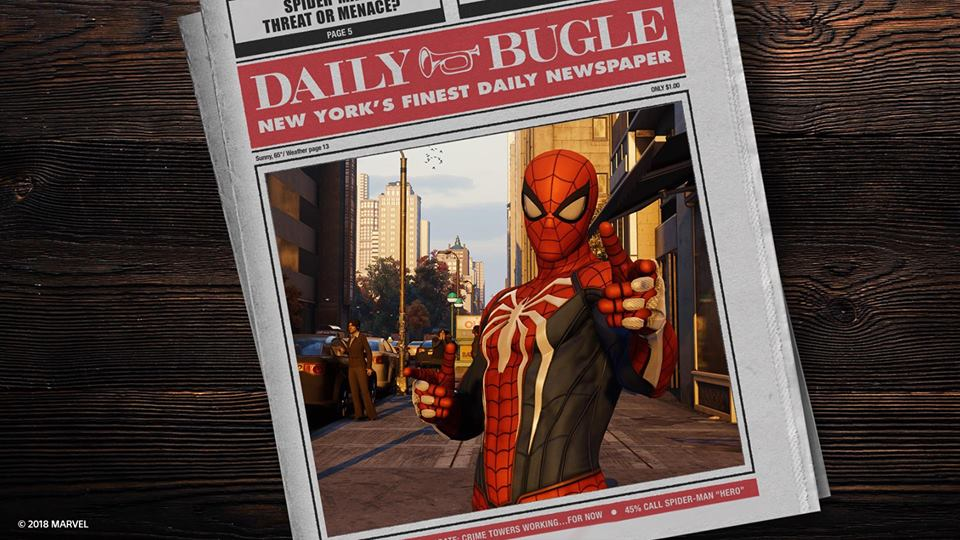 Marvel's Spider-Man bate recordes na PlayStation 4