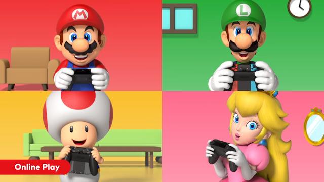 Muitas novidades a caminho da Nintendo Switch