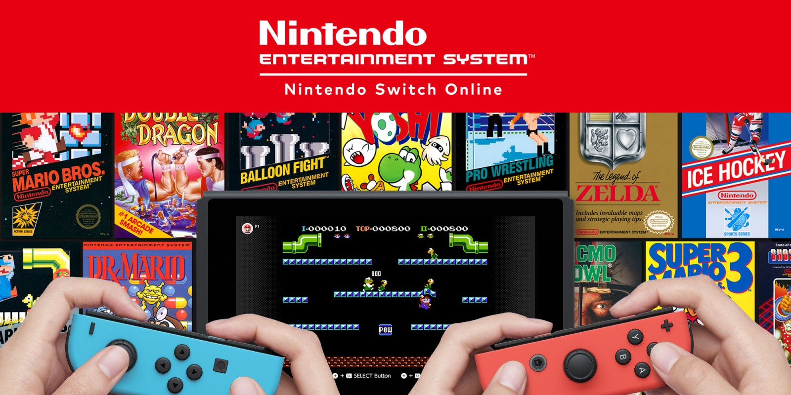 Nintendo Switch Online com novos jogos da NES