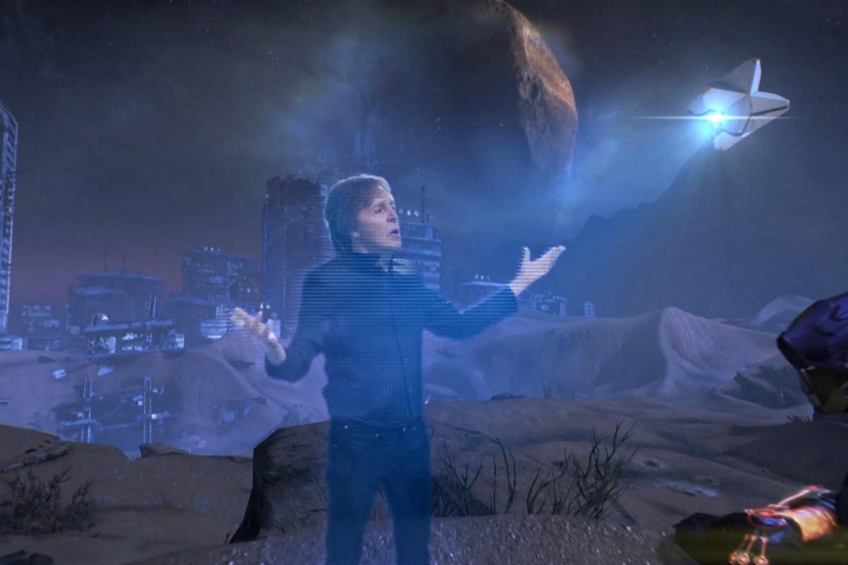 Paul McCartney regressa em Destiny 2