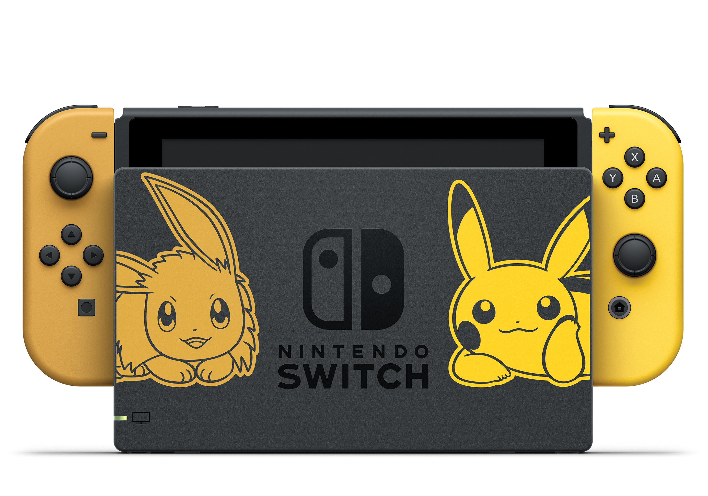 Nintendo revela edição especial de Switch para novo Pokémon