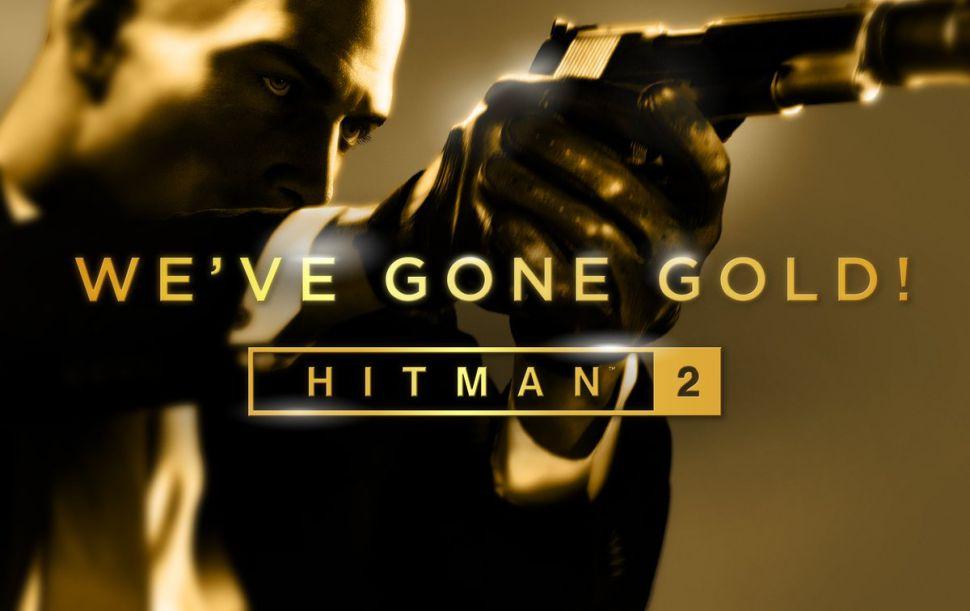 Hitman 2 está Gold
