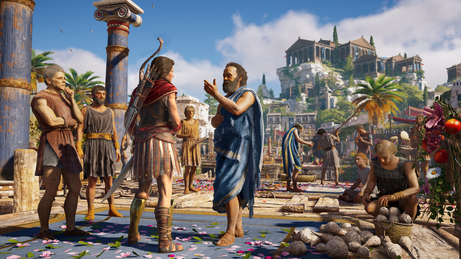 """Discovery Tour"" chega a Assassin's Creed: Odyssey"