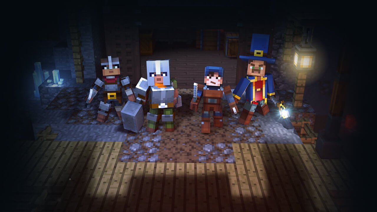 Minecraft estreia cross-play entre PC, mobile, Xbox, PlayStation e Switch