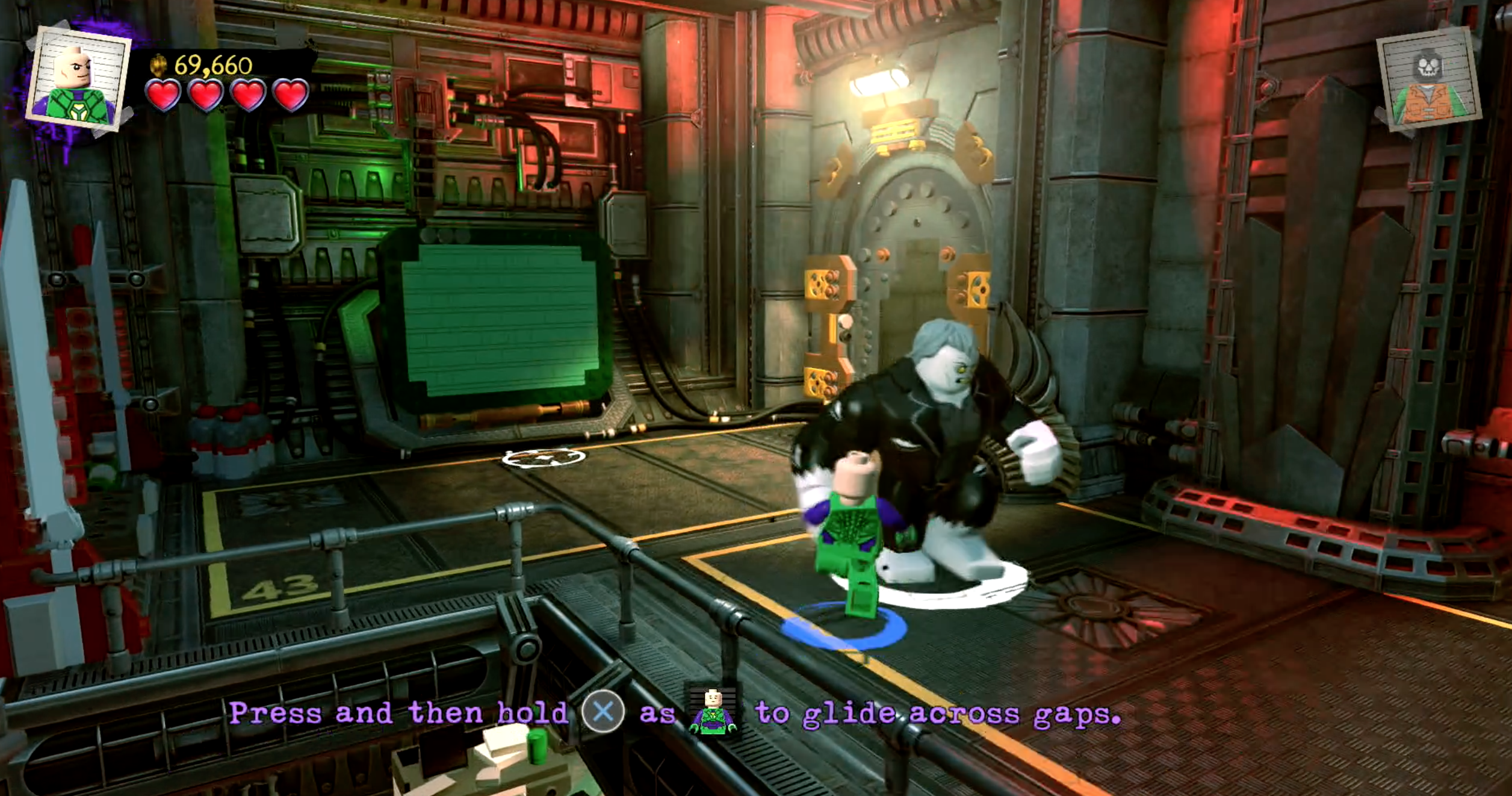 eaf26be133a1d A nossa criação começou o jogo a fugir de uma prisão de Metropolis ao lado  de Lex Luthor. No entanto, durante a fuga, descobrimos que tem a habilidade  de ...