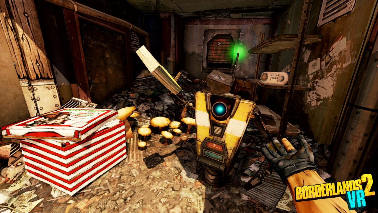 Borderlands 2 VR leva Pandora à realidade virtual