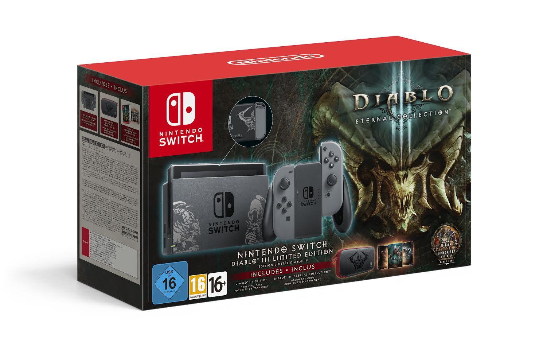 Nintendo Switch com edição especial de Diablo III