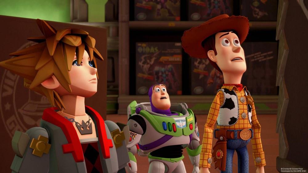 Disney, Pixar e Square Enix unem esforços em Kingdom Hearts III