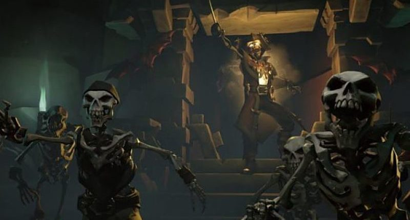 "Chegaram os ""Shrouded Spoils"" a Sea of Thieves"