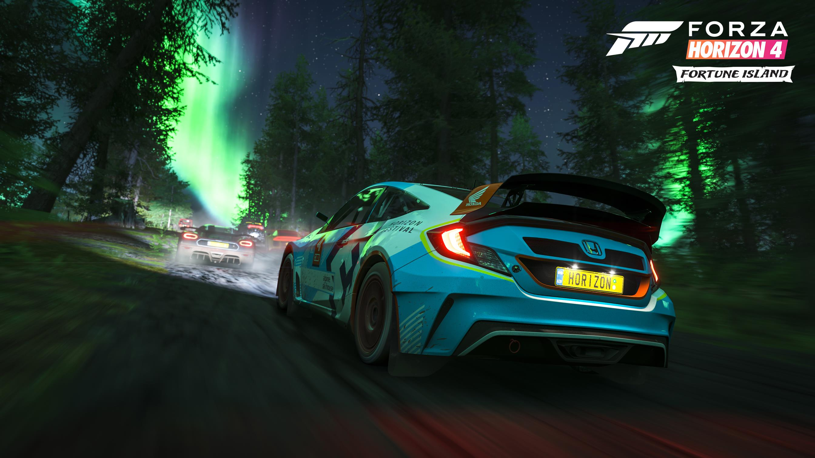 """A """"ilha da fortuna"""" chega amanhã a Forza Horizon 4"""