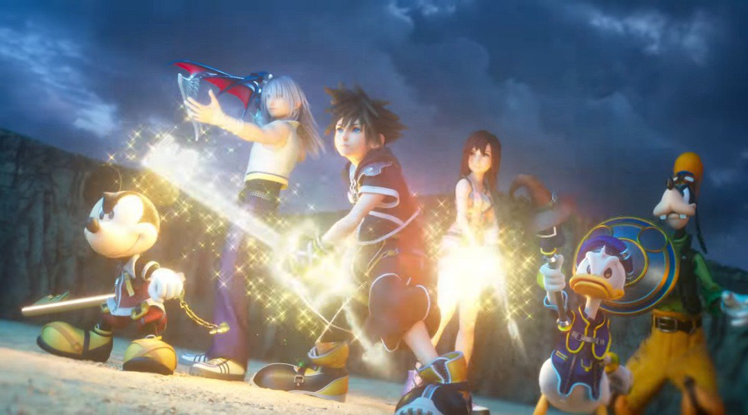 Kingdom Hearts III chegou antes do tempo nos EUA
