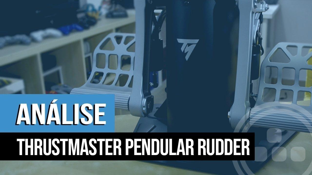 Análise – Thrustmaster Pendular Rudder